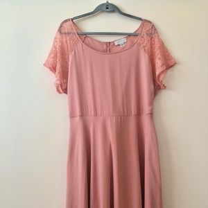 Forever 21 Romantic Pink Dress